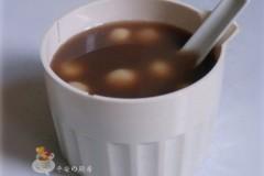 妙用细豆沙滤出来的红豆水:红豆小圆子(红豆沙做法)