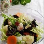 缓解秋乏的养肺润燥沙拉——虾仁双耳沙拉