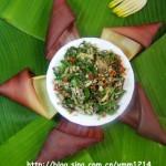 感受最原始的傣家風味--芭蕉花炒肉
