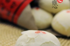 山楂树之恋·传统酥皮白月饼