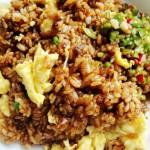 最原始的炒飯----醬油蛋炒飯