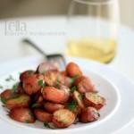 万用西餐边菜之一:迷迭香土豆