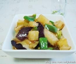 素菜荤吃的最佳典范:地三鲜