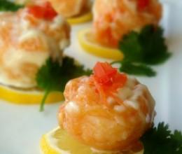 小虾如何变大虾,海白虾的五星级吃法—【柠香虾球】