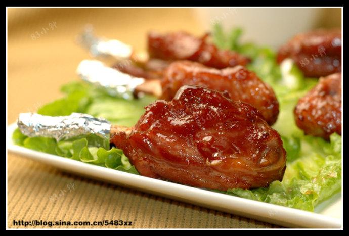 【蜜汁烤寸骨】-最像鸡腿的猪肉