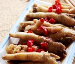 广州叹茶必不可少的一道小食——蚝皇蒸凤爪