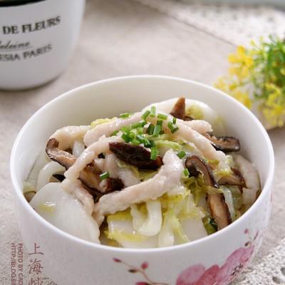 上海最迷人的小吃之快手主食篇———上海炒年糕