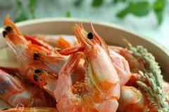 鲜美虾干自己做--微波虾干