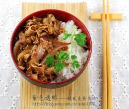 菜饭合一最有满足感的饭--香辣豆豉肥牛盖饭
