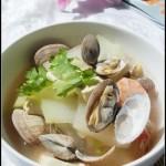 10分钟搞定深秋季节里的一碗润燥汤——海鲜冬瓜汤