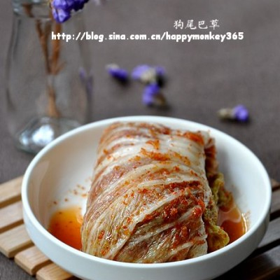 20张大图详解辣白菜的制作。【自制辣白菜】