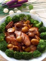 深秋里一道适合小朋友既增强抵抗力又益智菜肴——元蘑炖鸡翅(鸡翅的6种吃法)