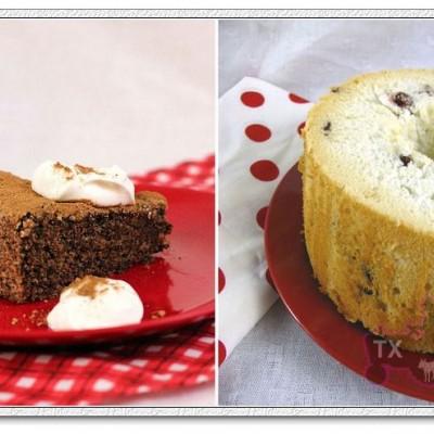 意式黑巧杏仁蛋糕+蔓越梅酸奶天使-蛋白的最佳归宿