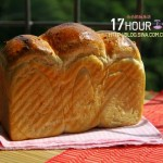 值得等待的17個小時的面包:17小時中種香芋吐司