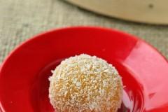 万圣节怎能少了南瓜--南瓜糯米糍