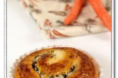 天然酵种胡萝卜丝甜面包-如何用干酵母和直接法代替天然酵种