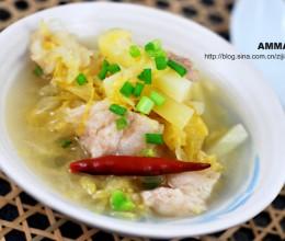 酸菜白肉熬土豆