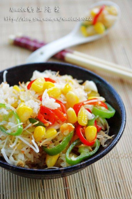 南洋风味的低卡主食料理——吃不胖的椰丝素炒饭