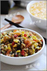 银鱼干补钙小菜两款----椒圈咸菜银鱼干&葱香银鱼炒蛋