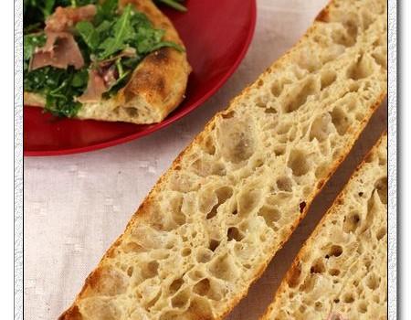 36小时天然酵种薄底批萨-法棍面团的华丽变身