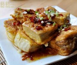 """豆腐酿菜的两大""""制胜""""秘籍,香煎肉茸豆腐!"""