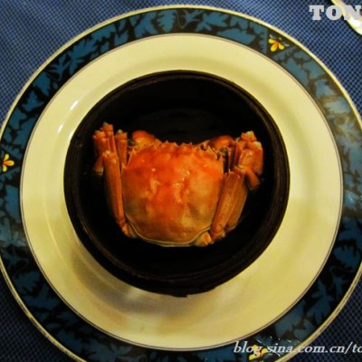 在五星级酒店自助餐厅做个文明食客----没有专业工具该怎样享受大闸蟹
