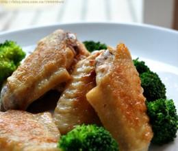 原汁原味,鸡翅的最诱惑吃法----【无油版盐煎鸡翅】