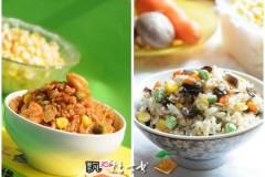 家有读书郎快手午饭----两款有海鲜的炒饭(西炒饭、海参炒饭)
