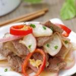 冬吃萝卜夏吃姜——暖心暖胃的小萝卜炒牛肉片