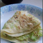 你没试过的吃法——白菜虾皮鸡蛋饼