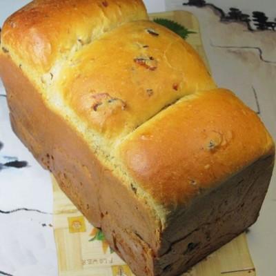 如何改善全麦面包的口感-----可以和膏方相媲美的全麦酒酿荔枝干面包