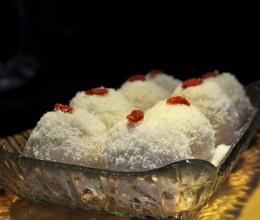 软糯香甜,简单易做的家庭小甜点:椰蓉糯米糍/36款营养早餐食谱