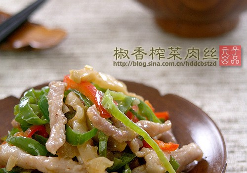 下饭界的老霸主———椒香榨菜炒肉丝