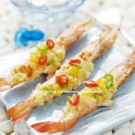 简单好吃的宴客菜----蒜蓉烤虾(含虾的处理方法)