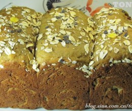 用德国人最喜欢的黑麦面粉打造一款粗粮面包---从此让你喜欢吃粗粮面包
