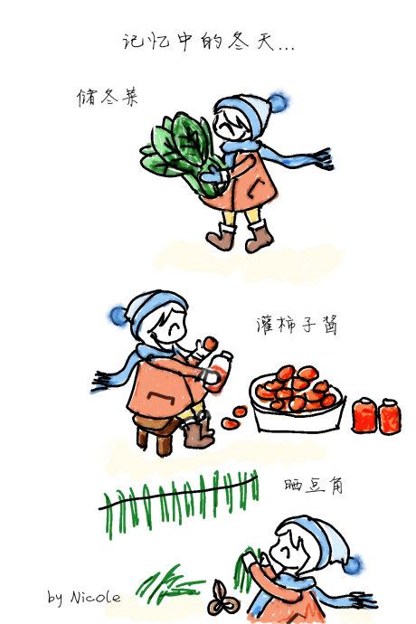 冬吃干,夏吃鲜——充满冬日气息的干豆角烧排骨
