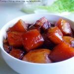 上海本帮特色的浓油赤酱——外婆红烧肉