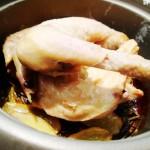 用电饭煲照样做美食---盐焗鸡