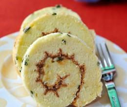 用甜蜜的方式跟2010SAYGOODBYE--香葱肉松蛋糕卷(超详步骤图教你做漂亮的蛋糕卷)