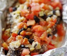 懒人的小资情调——华丽丽的豉汁烤鳕鱼