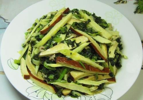 对中餐贡献很大的一款蔬菜是什么?------雪里红其实是百搭的蔬菜