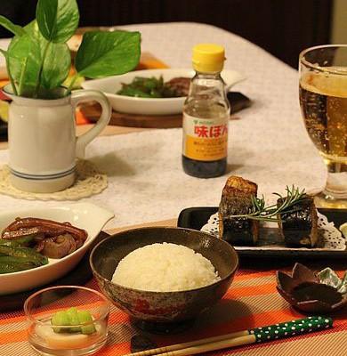 在家也可以吃精致的日餐定食(烤鱼好吃的秘诀)