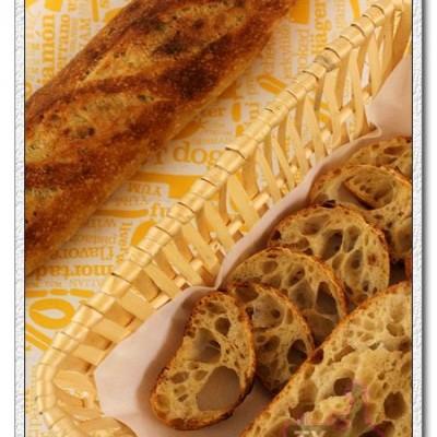 36小时面包屑天然酵种法棍-房车,博友,新年,海,吃!