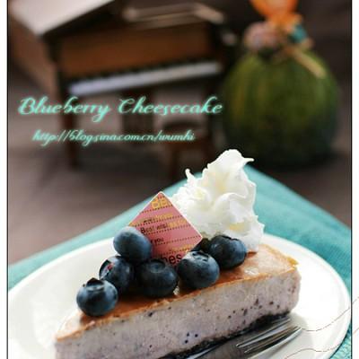 """零失败的""""高档""""蛋糕--蓝莓芝士蛋糕"""