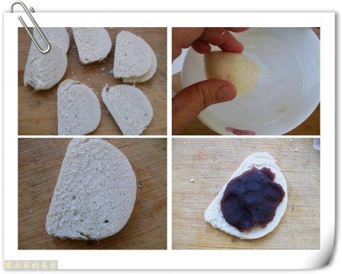 只需10分钟就能使剩馒头变成餐桌上的抢手早餐——豆沙酥盒