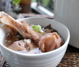 【棒骨藕汤】湖北人的冬天少不了这碗汤!