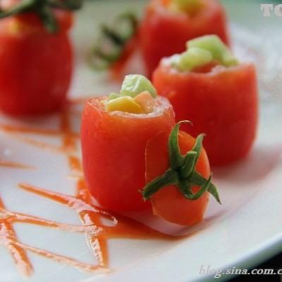 30道清肠菜吹响春节上来减肥排毒的号角-----樱桃番茄沙拉