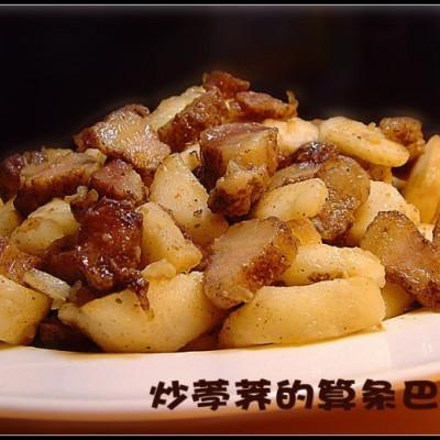 请台湾朋友吃的一道宋代算条巴子