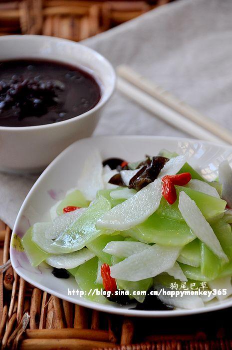 春季排毒减脂餐(一)【木耳杂蔬小炒+黑米粥】