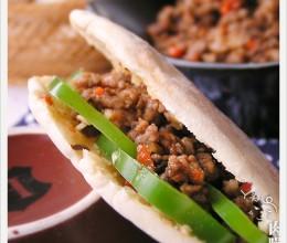 【食】简易版肉臊夹馍——食疗调理睡眠小报告